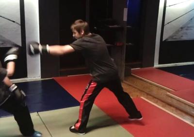 Kinderkickboxen – Training