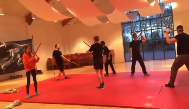 Pencak Silat Training 2017 – Teil 1