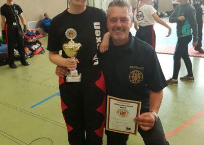 Deutsche Meisterschaft im Kickboxen des IBV in Soest 2016