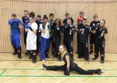 Kickboxtraining in Soest im Februar 2016