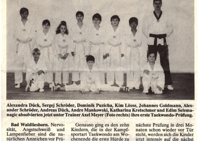 Patriot-11-1995-Taekwon-Do-Prüfung-gemeistert