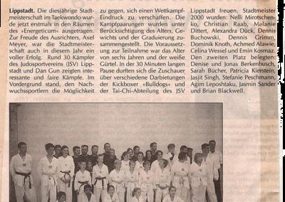 Patriot-20-09-2000-Meisterschaften-im-Taekwon-Do-mit-zahlreichen-Gewinnern