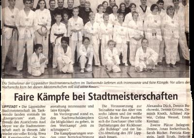 Wochentip-23-09-2000-Faire-Kämpfe-bei-Stadtmeisterschaften