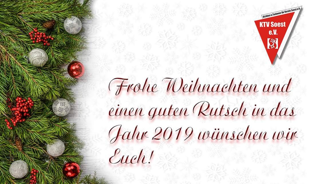 Weihnachten 2019 Nrw.Frohe Weihnachten 2018 Und Einen Guten Rutsch In Das Jahr 2019 Ktv
